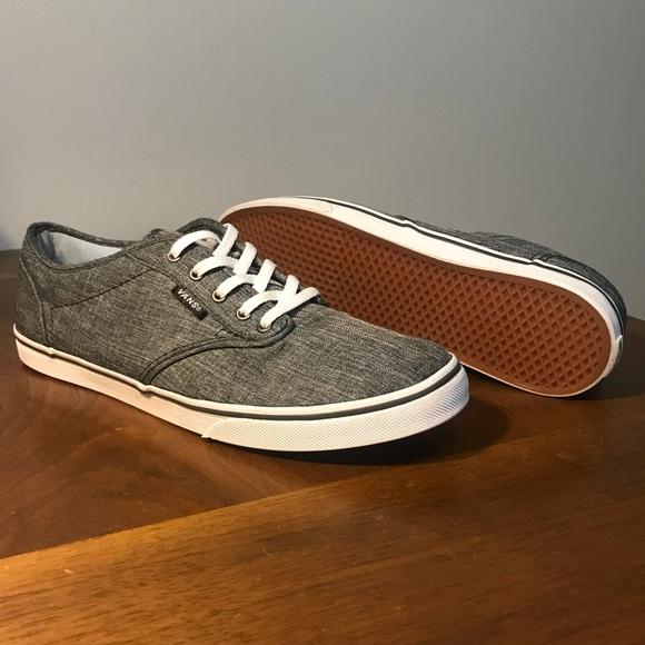 be47394957 Vans Women s Atwood Low Top Sneaker. M 5b188c306a0bb7f5b55db0ed